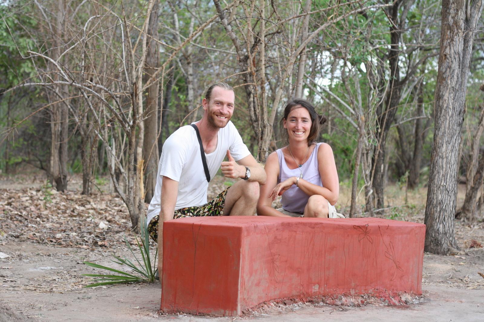 Foto bij Upcycling | Bench for Mariri