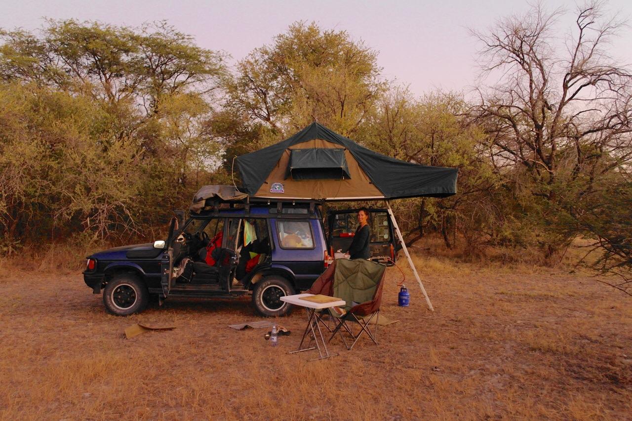 Foto bij Eerste en laatste nacht in Zambia