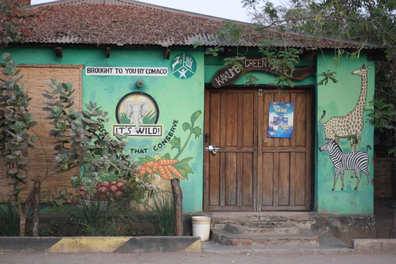 Comaco winkel in de Luangwa Vallei