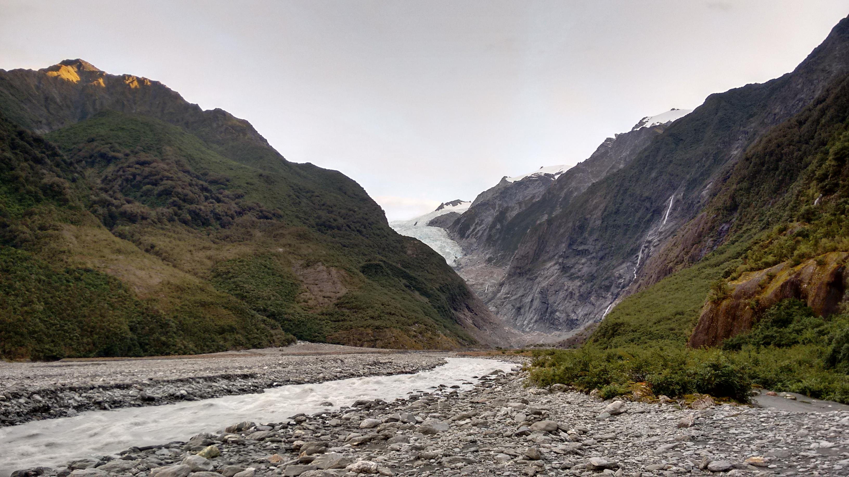 Foto bij Franz Josef Glacier