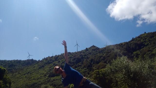 Foto bij It ain't easy being a windmill