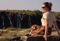 Foto bij Vic Fall's | Zimbabwe