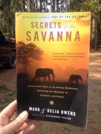 Foto bij Boek | Secrets of the Savanna