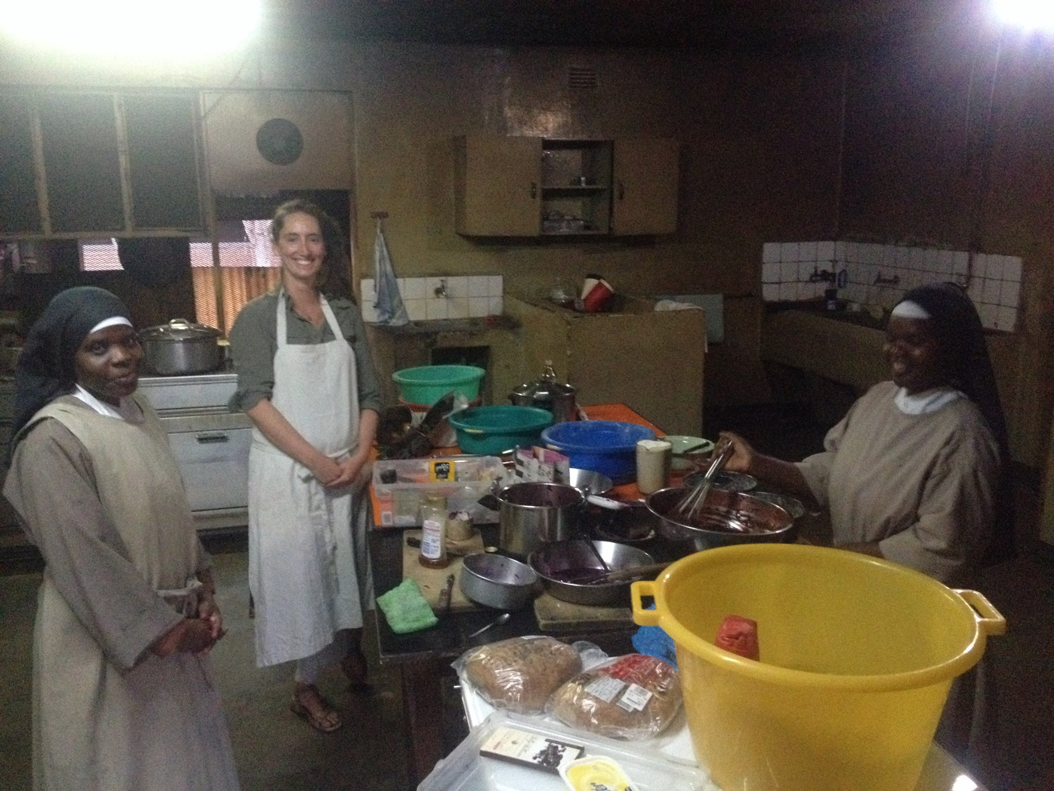 Foto bij Cooking for the sisters in Lilongwe
