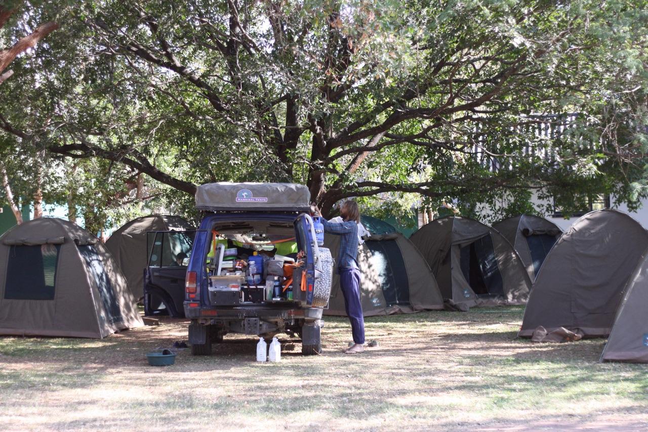 Foto bij Landy | Rest Camp Vic Falls
